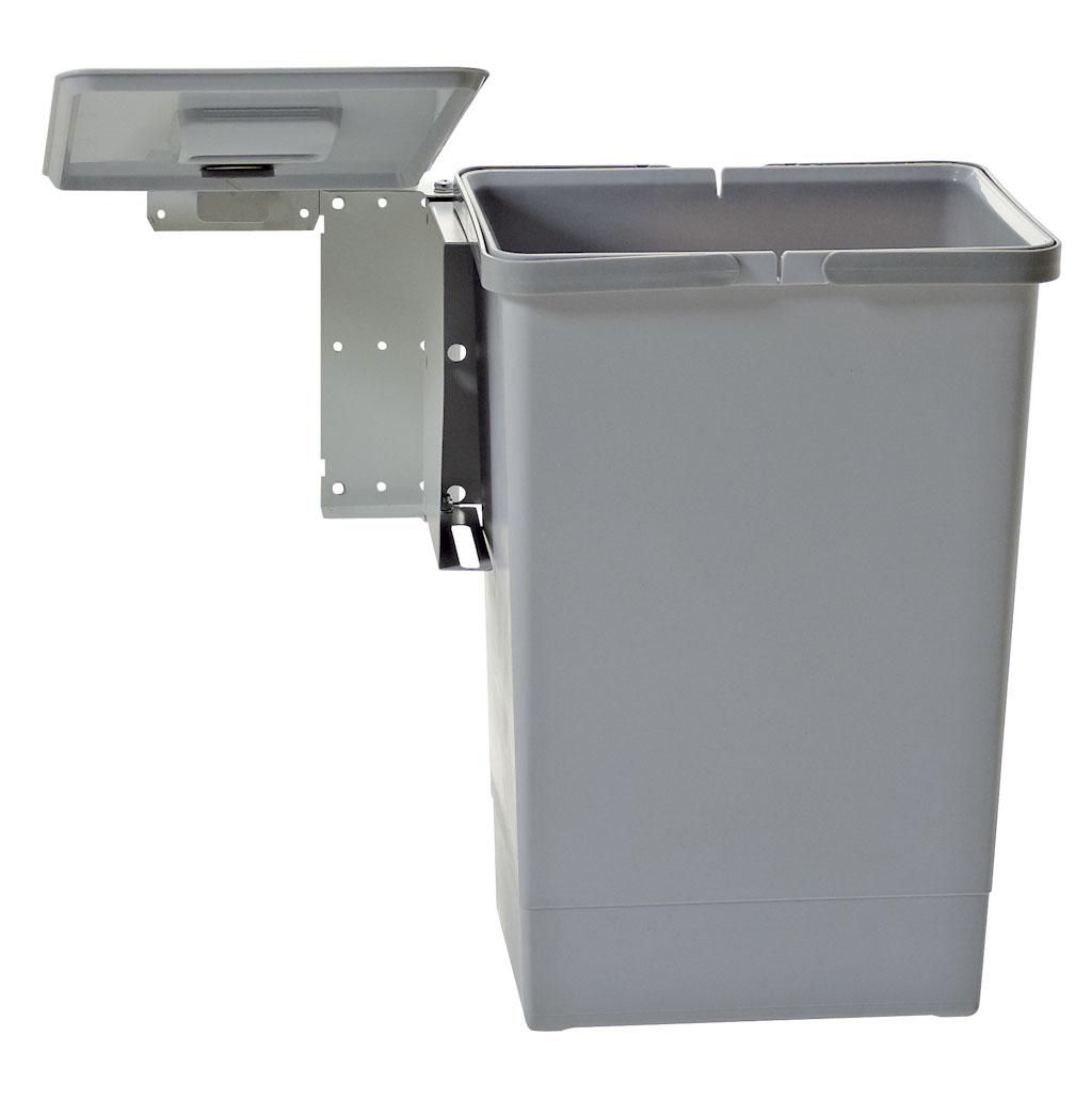 Pattumiera automatica per anta cucina ecologica metallo - Pattumiere per cucina ...