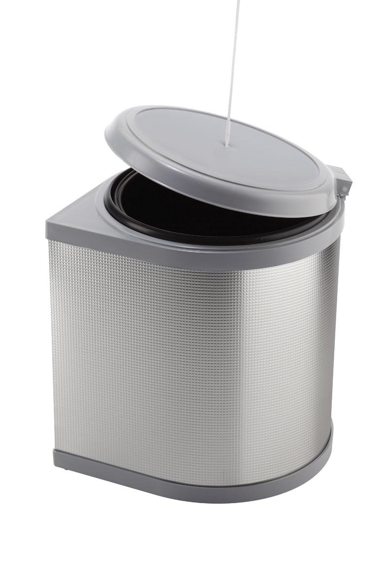 Pattumiera Automatica Per Anta Cucina In Plastica Ed Alluminio Ecologica Secchi 1x10l Planet