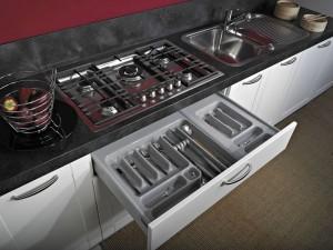Portaposate Per Cassettiera Da 90 Cm.Portaposate Da Cassetto Cucina Di Design Modulo 90cm Modulo30